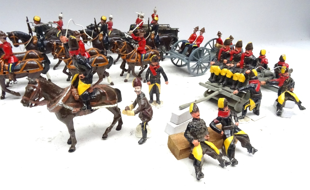 Royal Canadian Mounted Police Artillery and Supply train - Image 5 of 8