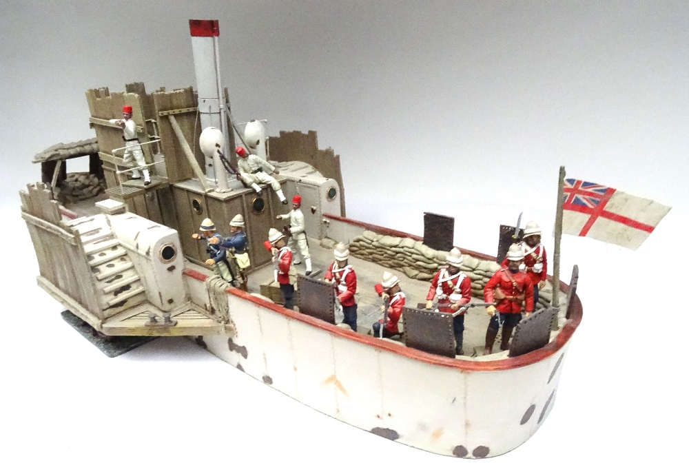 Briains War along the Nile Series, set 27043 Nile River Gunboat and Crew - Image 10 of 16