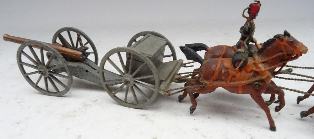 Britains set 39, Royal Horse Artillery - Image 8 of 8