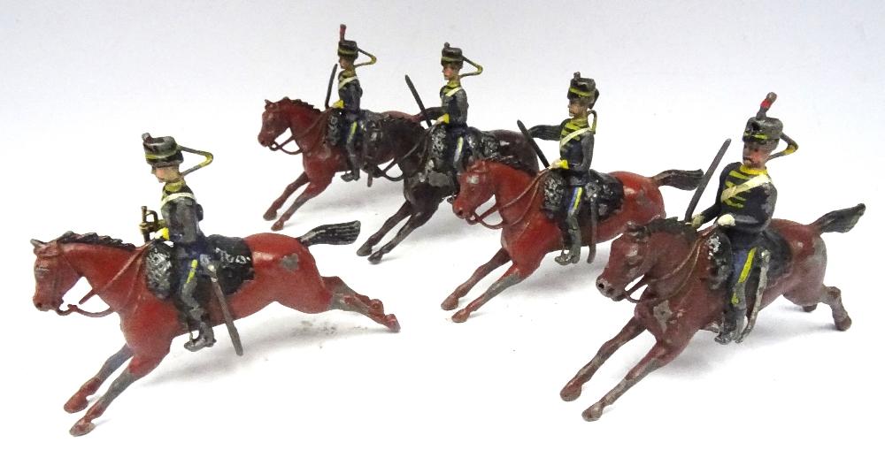 Britains set 8, 4th Hussars - Image 4 of 5
