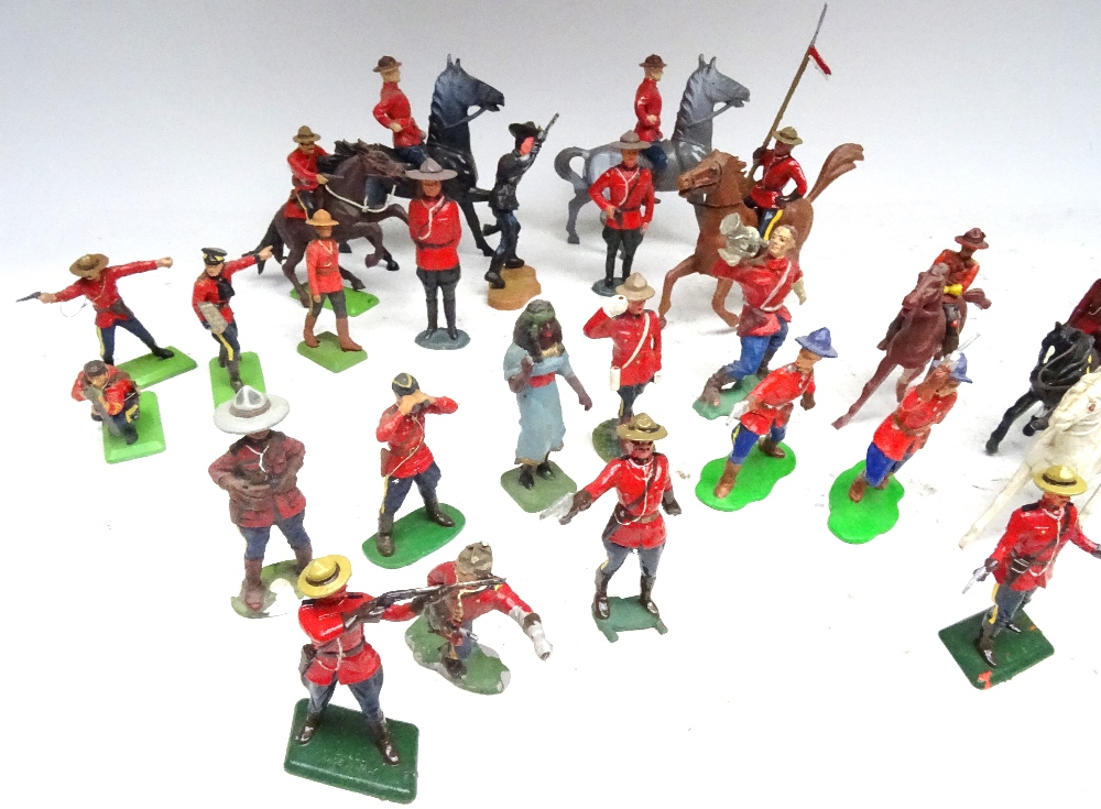Various Royal Canadian Mounted Police in plastic - Image 7 of 13