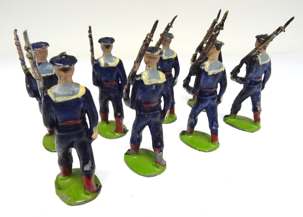 Britains small size set 22B, Bluejackets of HM Royal Navy - Image 4 of 6