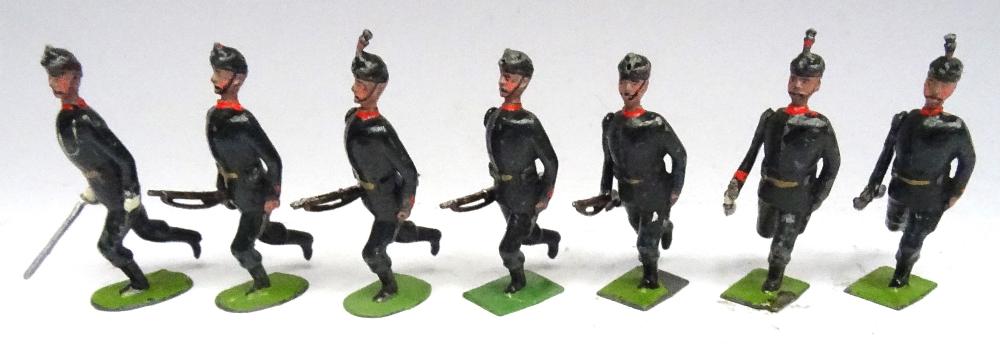 Britains set 9, Rifle Brigade - Image 4 of 5