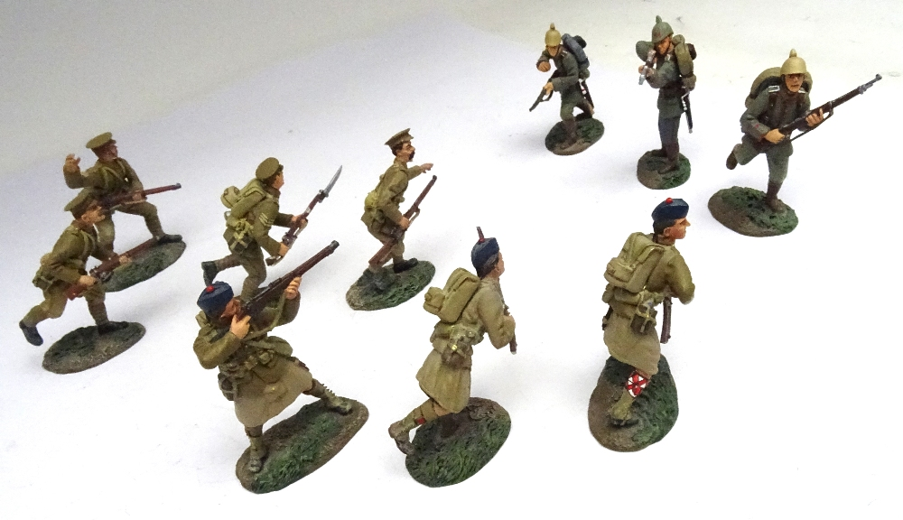 Britains First World War Matte Series 1914 set 17807 Mons - Image 2 of 5