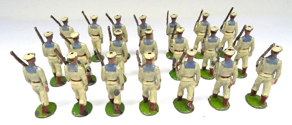 Britains three sets 24B small size Whitejackets - Image 4 of 5