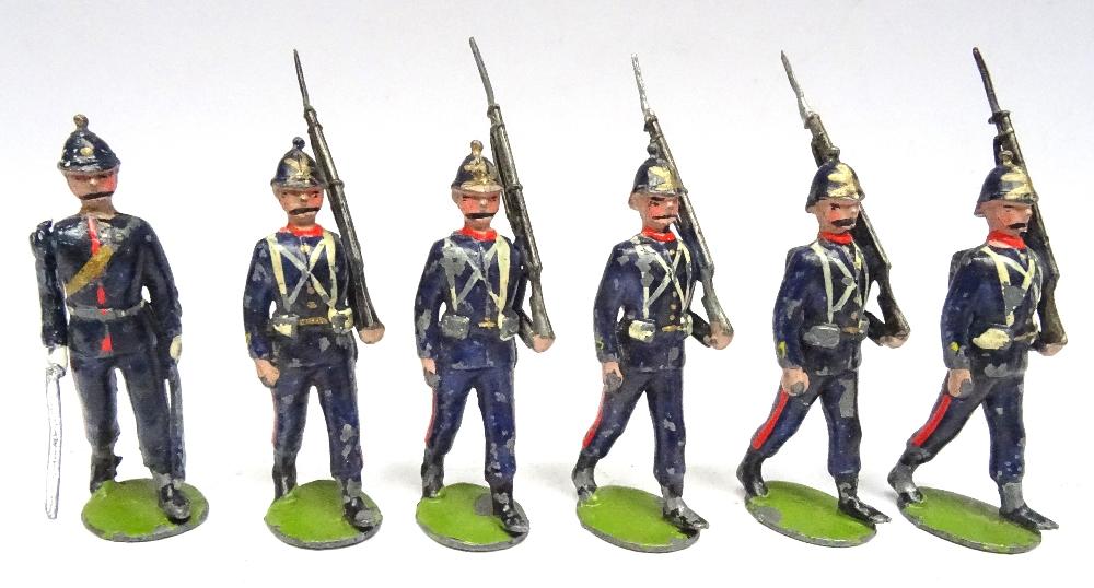 Britains set 9, Rifle Brigade - Image 3 of 5