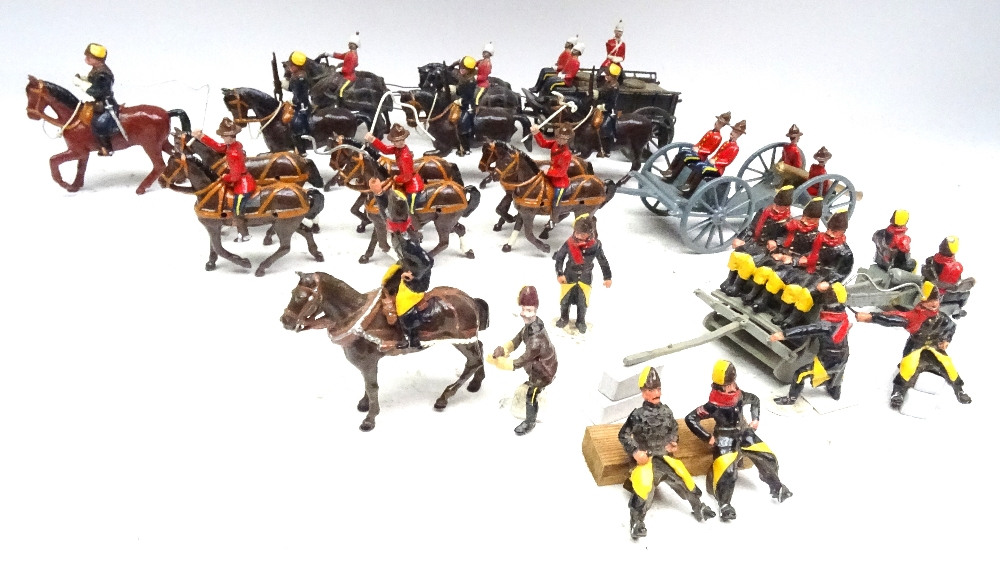 Royal Canadian Mounted Police Artillery and Supply train - Image 2 of 8