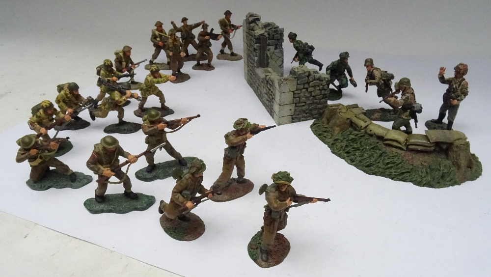 Britains Second World War Matte Series Normandy British - Image 4 of 5