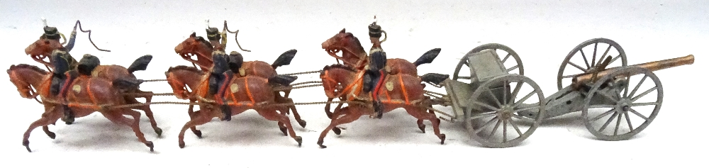 Britains set 39, Royal Horse Artillery - Image 4 of 8