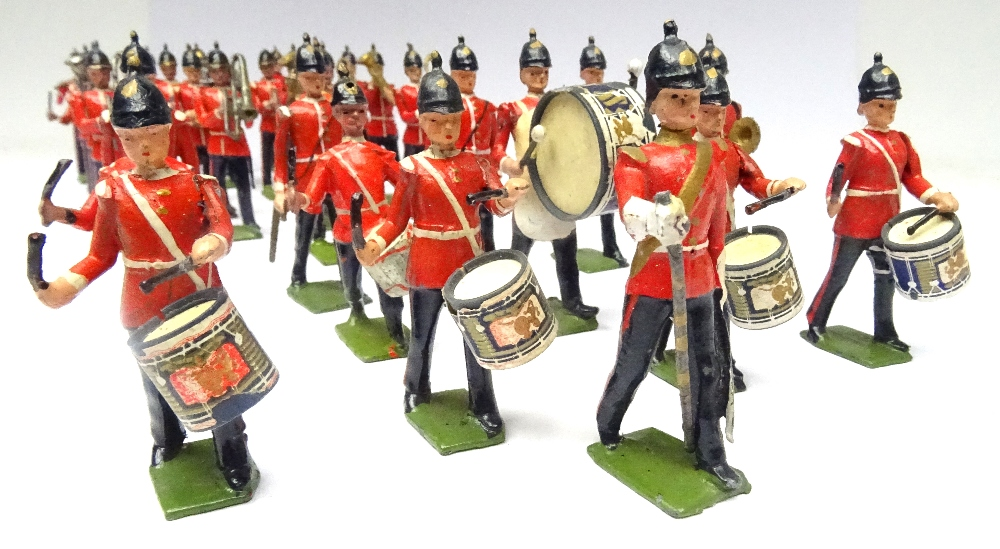 Britains from sets 27 and 30, Drums, Bugles and Band of the Line - Image 3 of 3