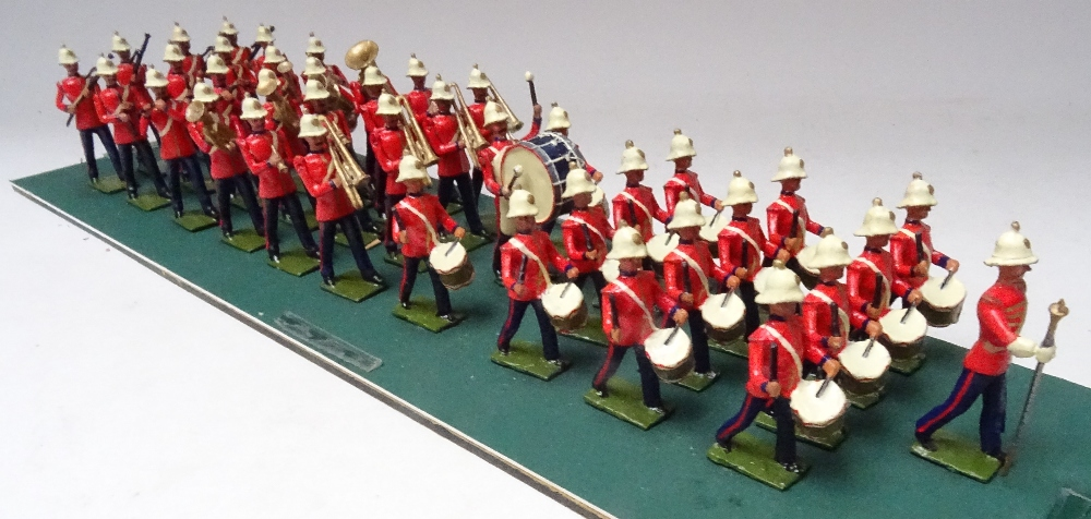 Recast Britains Royal Marine Light Infantry Band - Image 5 of 8