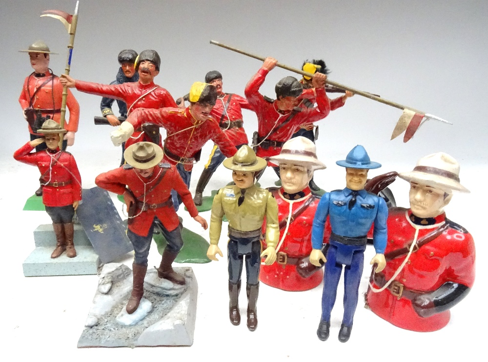 Various Royal Canadian Mounted Police in plastic - Image 13 of 13