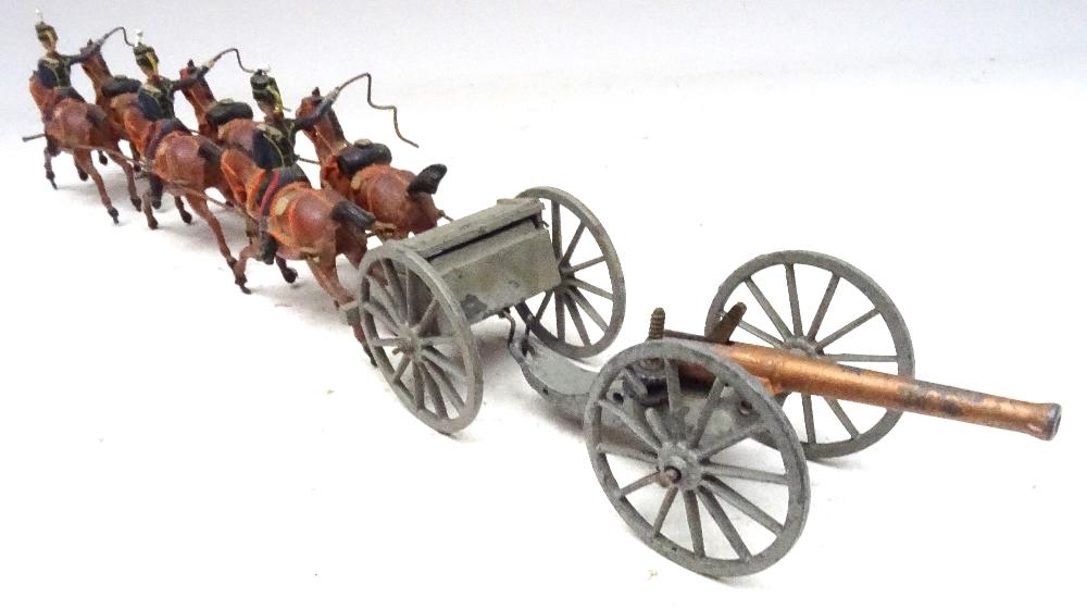 Britains set 39, Royal Horse Artillery - Image 5 of 8
