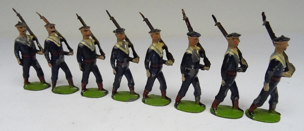 Britains small size set 22B, Bluejackets of HM Royal Navy - Image 5 of 6