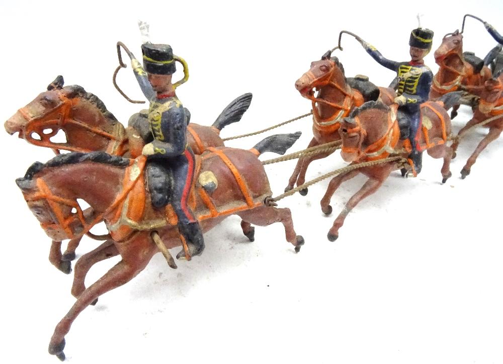 Britains set 39, Royal Horse Artillery - Image 2 of 8