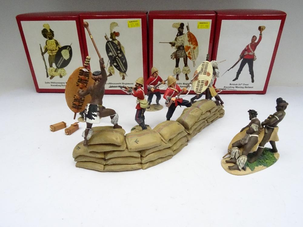 Britains Matte Zulu Wars Rorke's Drift 20030 Breaching the Wall - Image 5 of 7