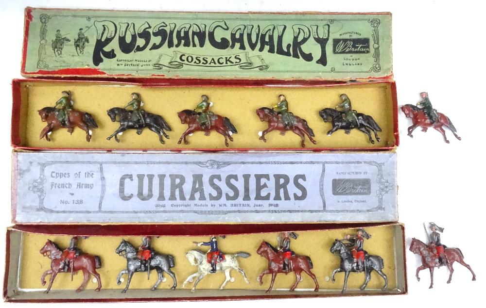 Britains set 136, Russian Cossacks - Image 3 of 7
