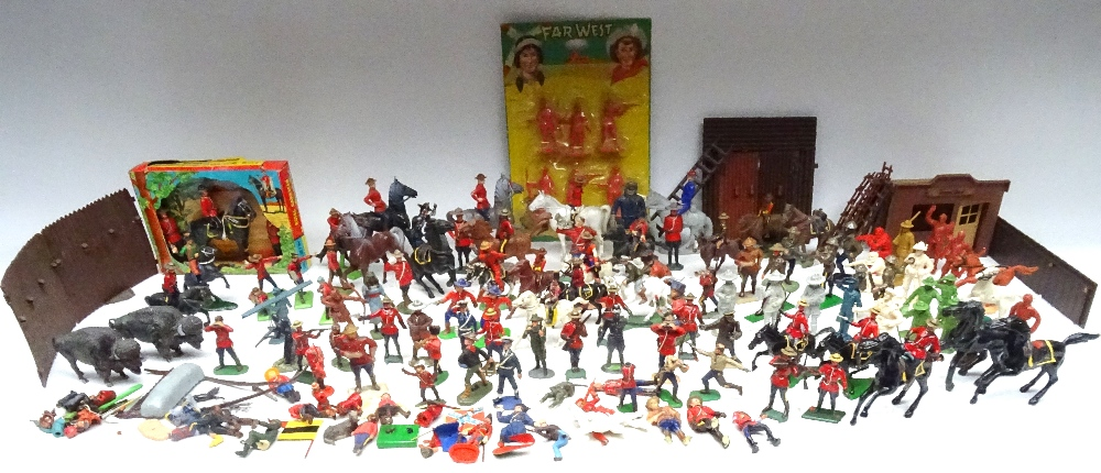 Various Royal Canadian Mounted Police in plastic