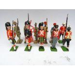 Britains RARE set 1872, Historical Collectors set for F.A.O. Schwartz