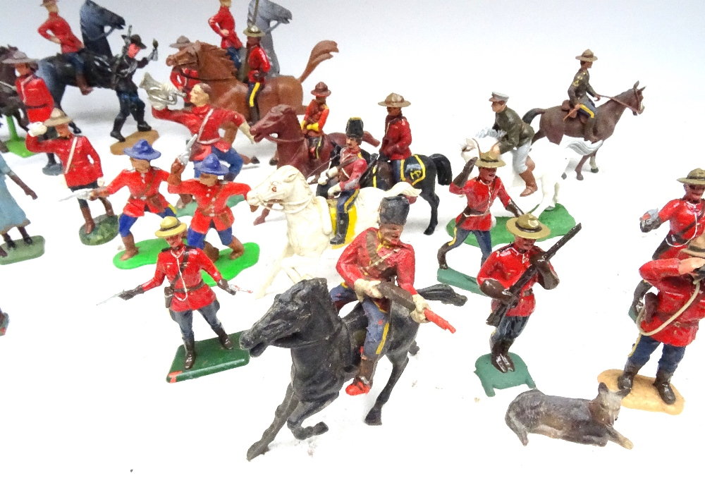 Various Royal Canadian Mounted Police in plastic - Image 6 of 13