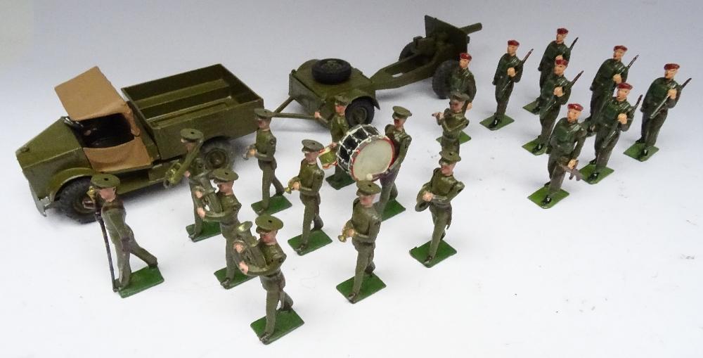 Britains set 1290, British Infantry Band - Image 4 of 9