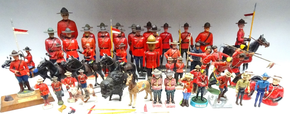 Various Royal Canadian Mounted Police in plastic - Image 12 of 13