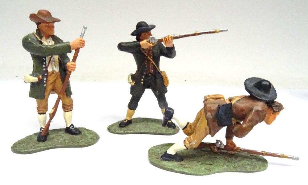 Britains Matte American Revolution set 17221 10th Foot - Image 3 of 9