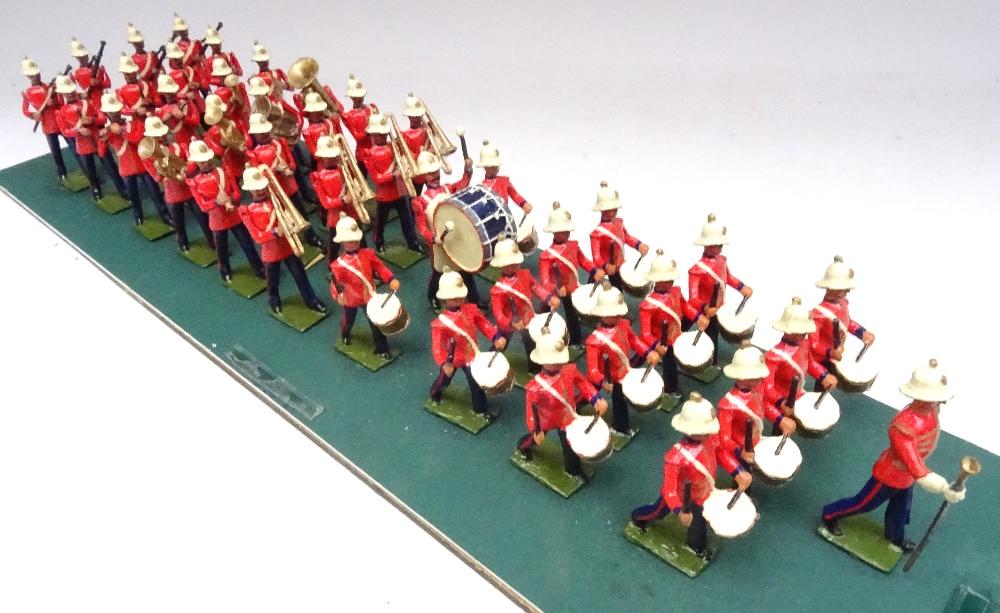 Recast Britains Royal Marine Light Infantry Band - Image 7 of 8