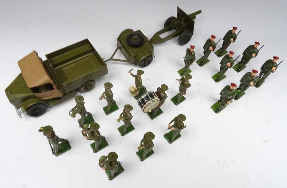 Britains set 1290, British Infantry Band - Image 3 of 9
