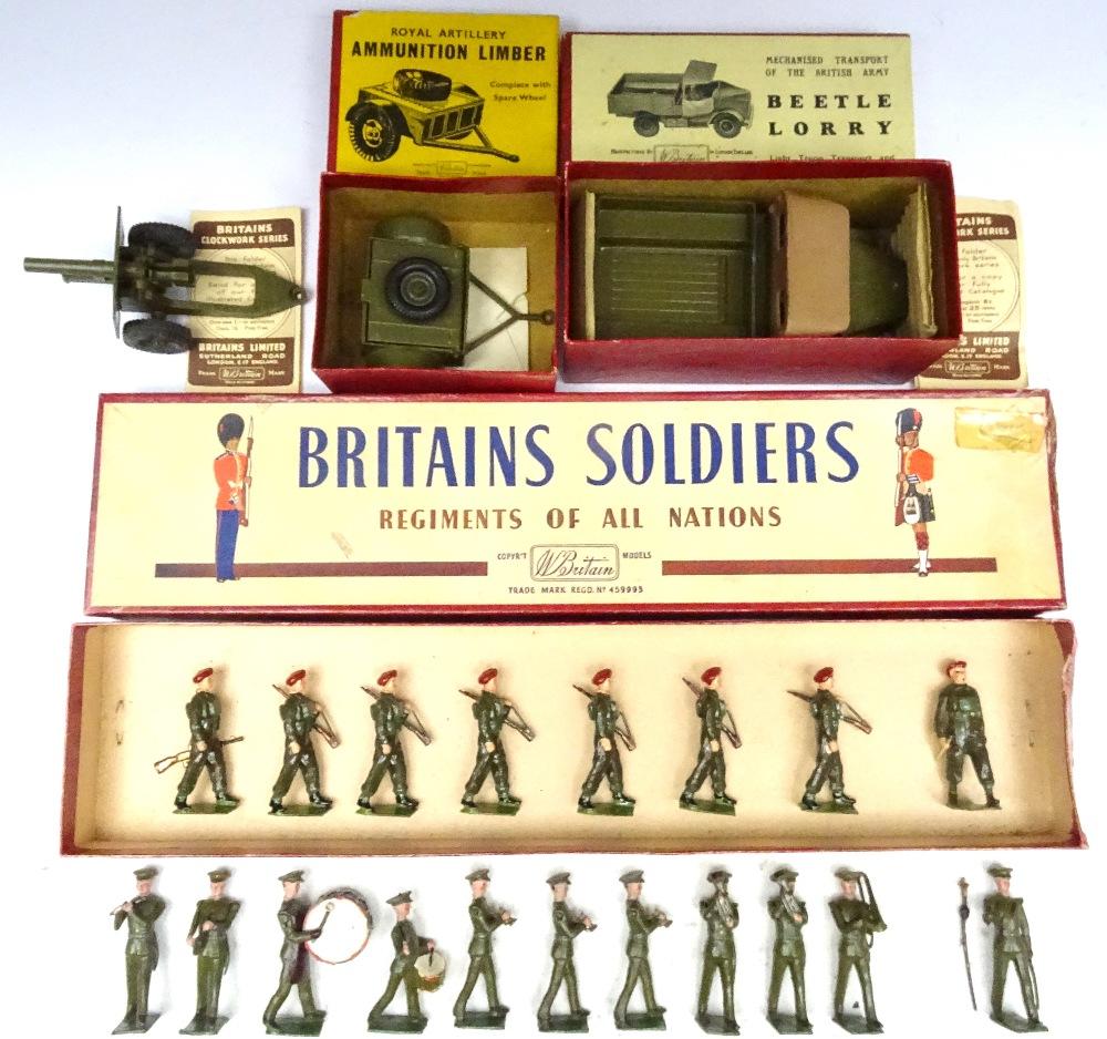 Britains set 1290, British Infantry Band