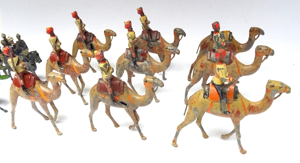 Britains two sets 123, Bikanir Camel Corps - Image 2 of 7