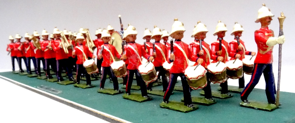 Recast Britains Royal Marine Light Infantry Band - Image 6 of 8