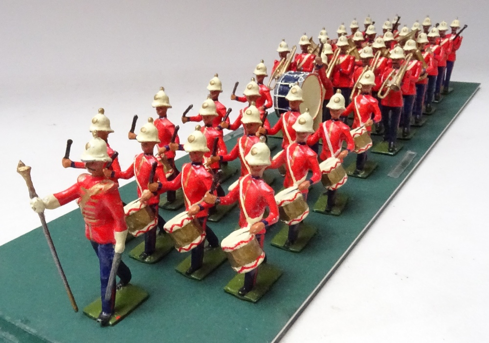 Recast Britains Royal Marine Light Infantry Band - Image 3 of 8