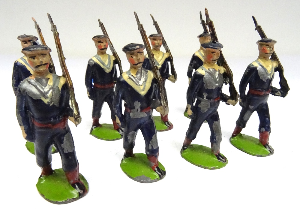 Britains small size set 22B, Bluejackets of HM Royal Navy - Image 2 of 6