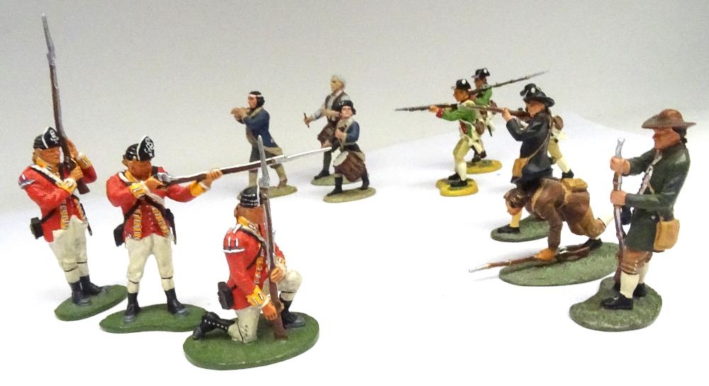 Britains Matte American Revolution set 17221 10th Foot - Image 6 of 9