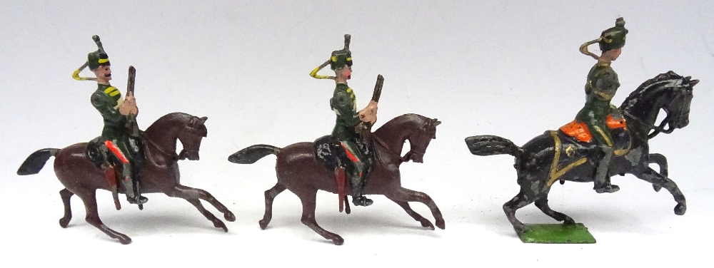 Britains set 8, 4th Hussars - Image 2 of 5