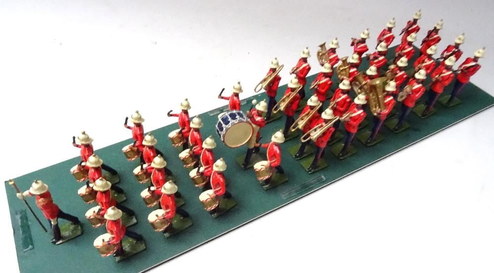 Recast Britains Royal Marine Light Infantry Band - Image 4 of 8