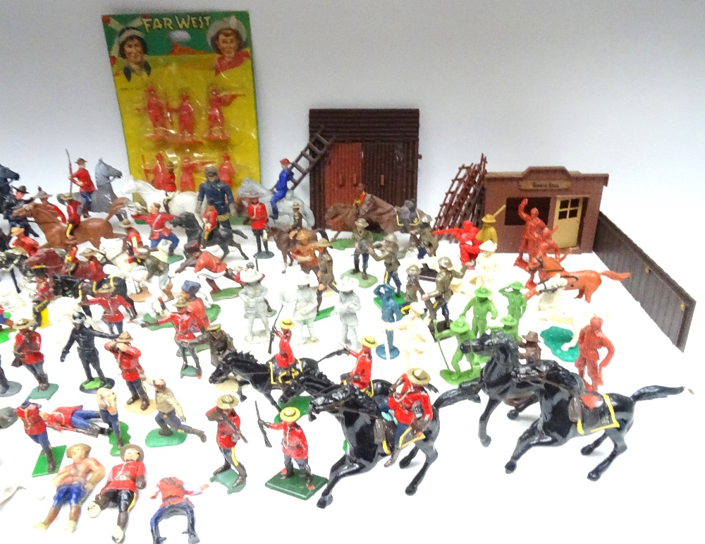 Various Royal Canadian Mounted Police in plastic - Image 3 of 13
