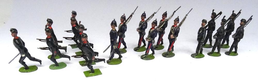 Britains set 9, Rifle Brigade