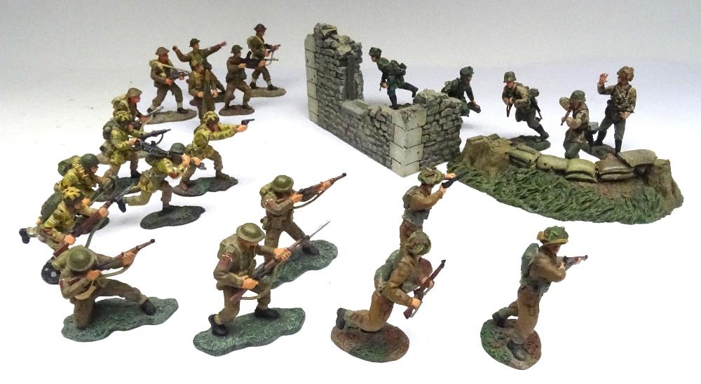 Britains Second World War Matte Series Normandy British - Image 2 of 5