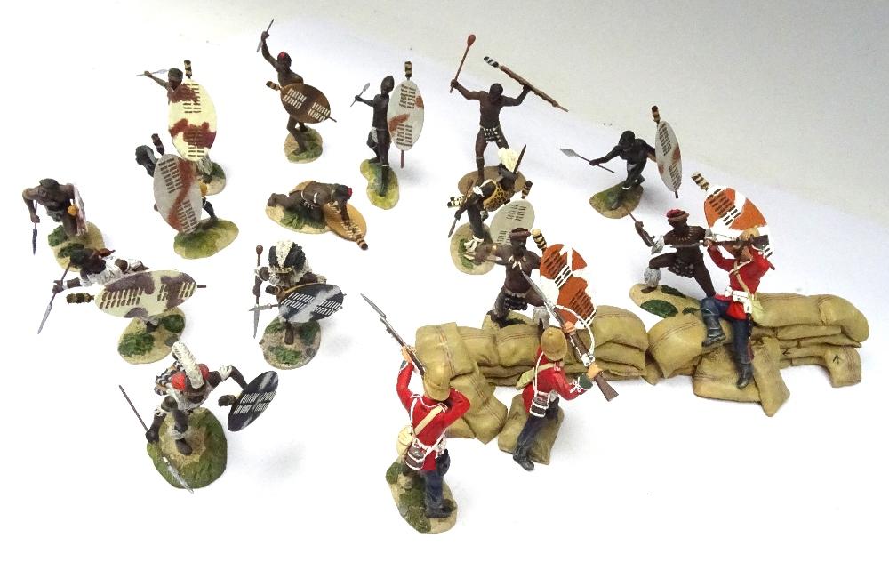 Britains Matte Zulu Wars Rorke's Drift 20029 Defending the Wall - Image 3 of 7
