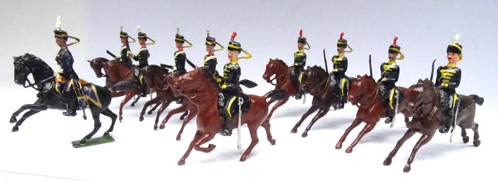 Britains set 8, 4th Hussars - Image 3 of 5