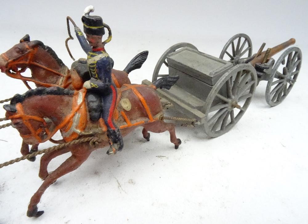 Britains set 39, Royal Horse Artillery - Image 3 of 8