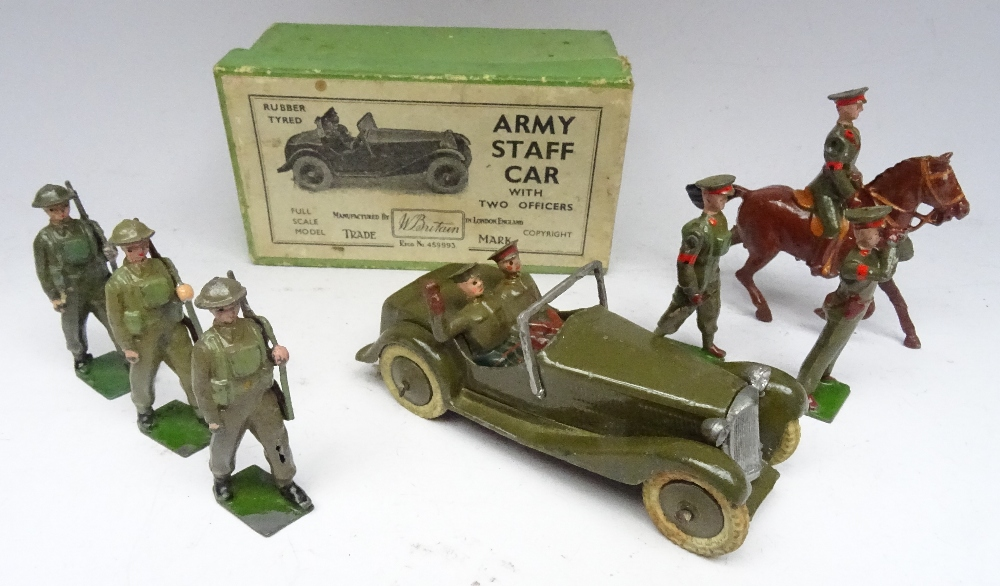 Britains set 1448, Army Staff Car
