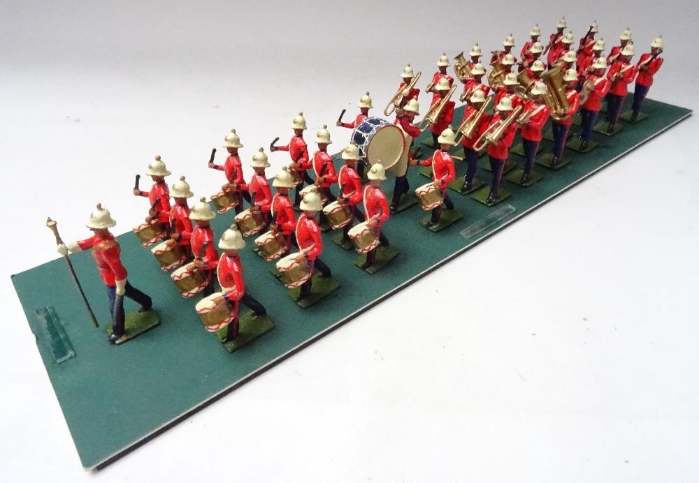 Recast Britains Royal Marine Light Infantry Band