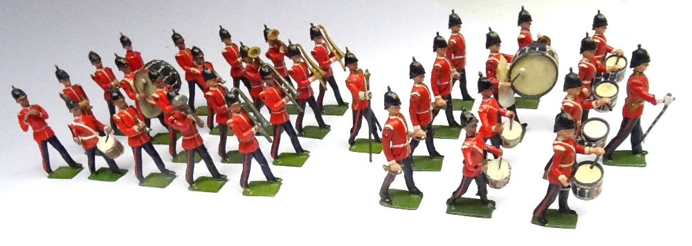 Britains from sets 27 and 30, Drums, Bugles and Band of the Line - Image 2 of 3