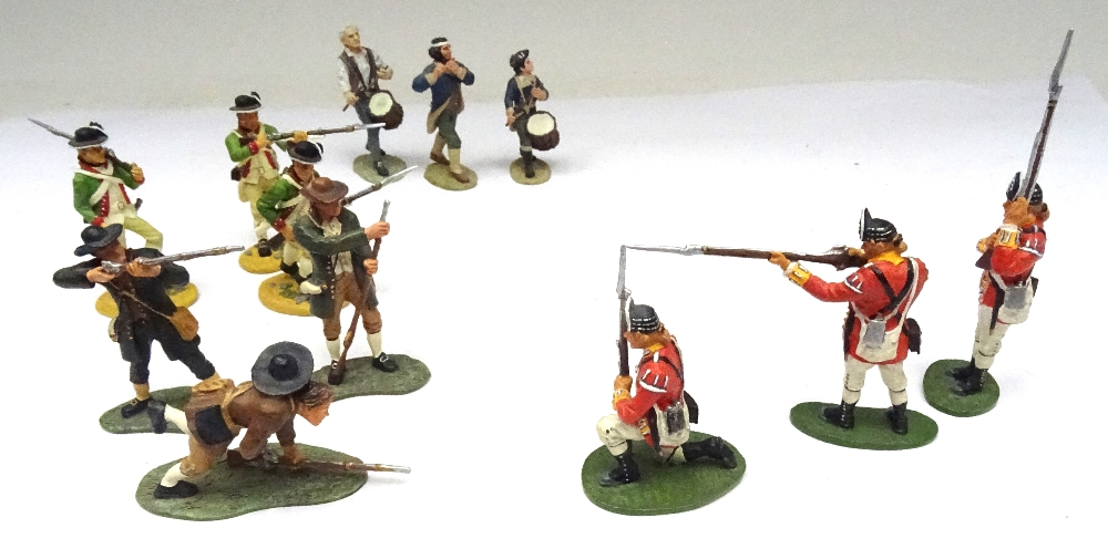 Britains Matte American Revolution set 17221 10th Foot - Image 7 of 9