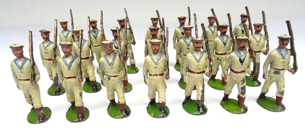 Britains three sets 24B small size Whitejackets