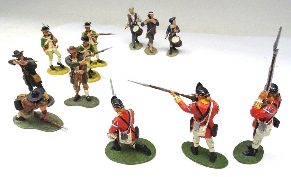 Britains Matte American Revolution set 17221 10th Foot - Image 8 of 9