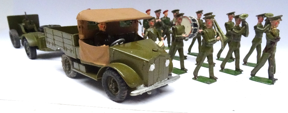 Britains set 1290, British Infantry Band - Image 9 of 9
